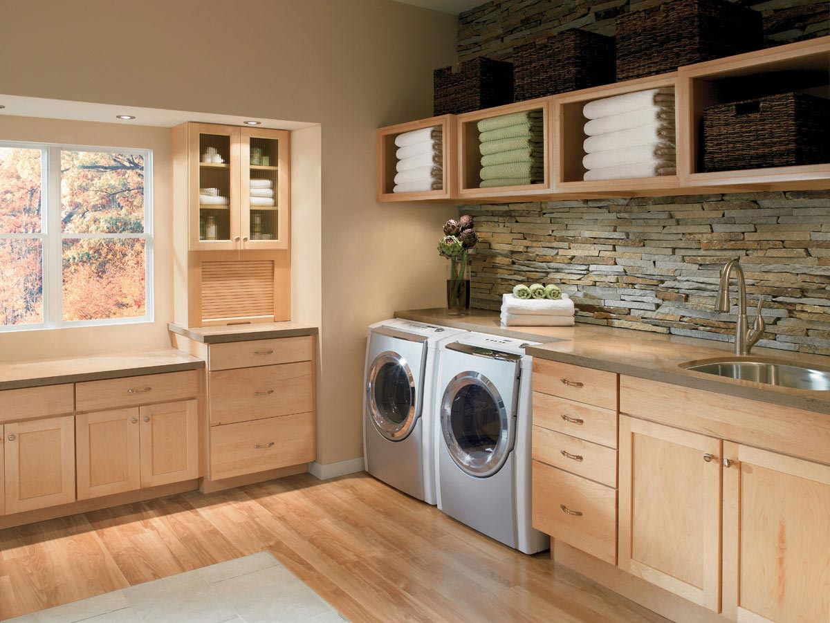 Laundry In Kitchen Design Ideas Part - 40: Kitchen Remodeling. Office Remodeling. Laundry Room